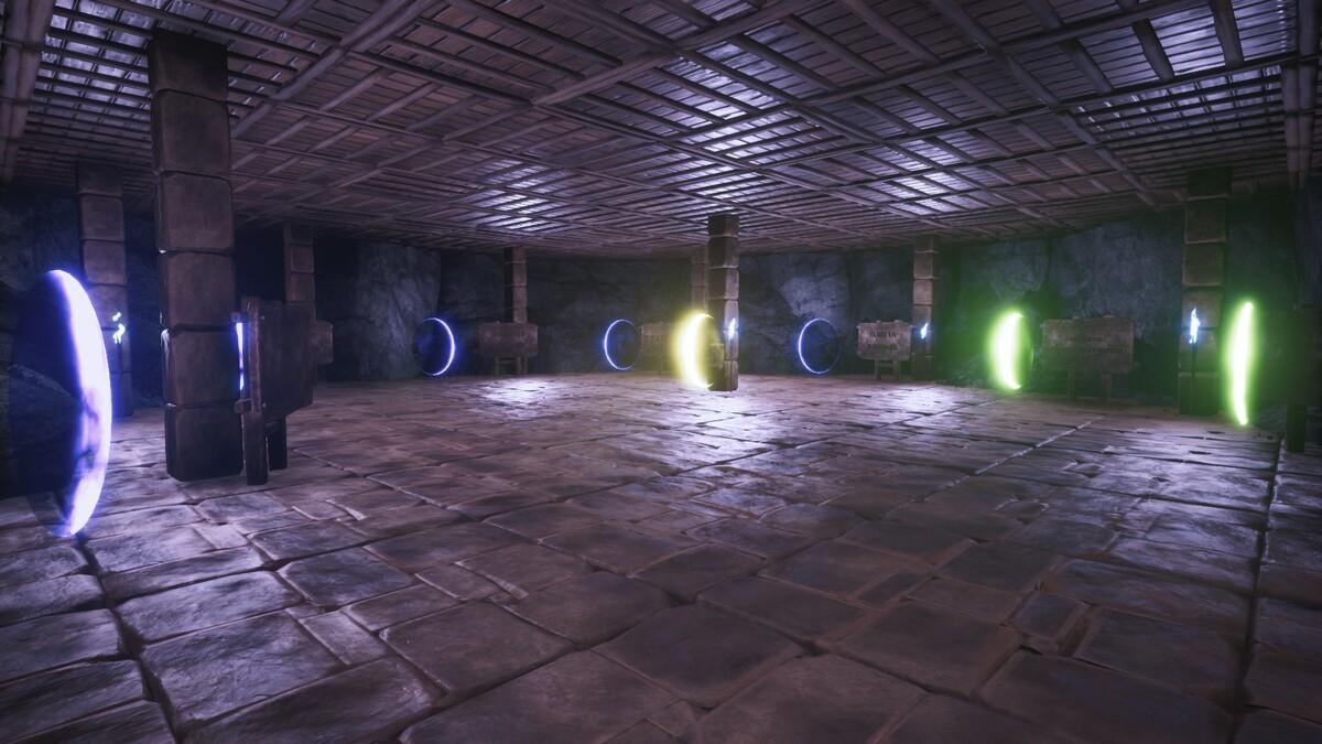 Raum der Portale