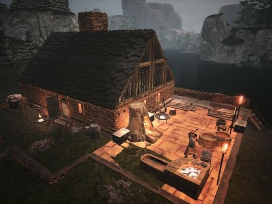 Das erste Haus in Norden