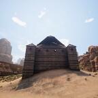 Sklavenrad Hinterseite