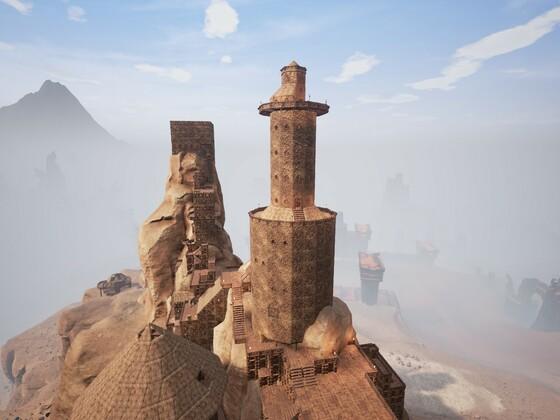 Blick vom ersten Turm