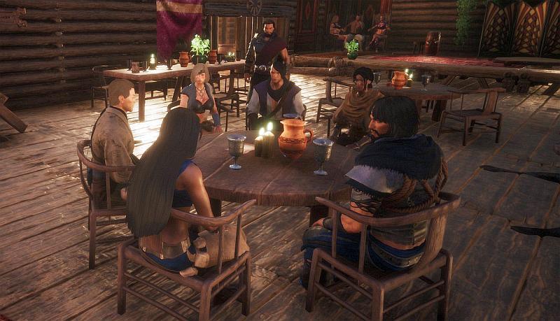 Neulich in der Taverne in Zarbos