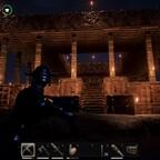 Tempel bei Nacht