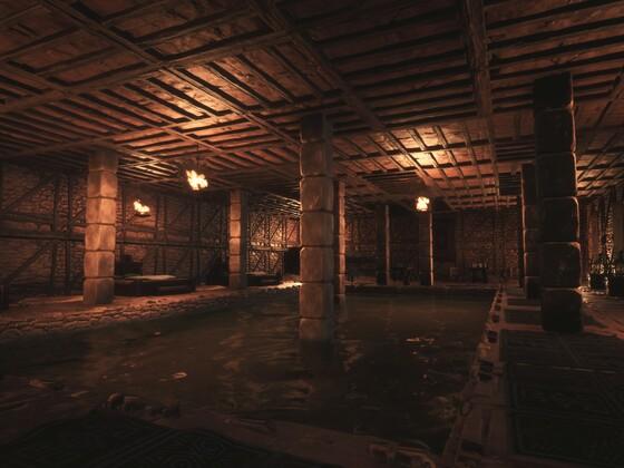 Badebereich im Tempel der Derketo