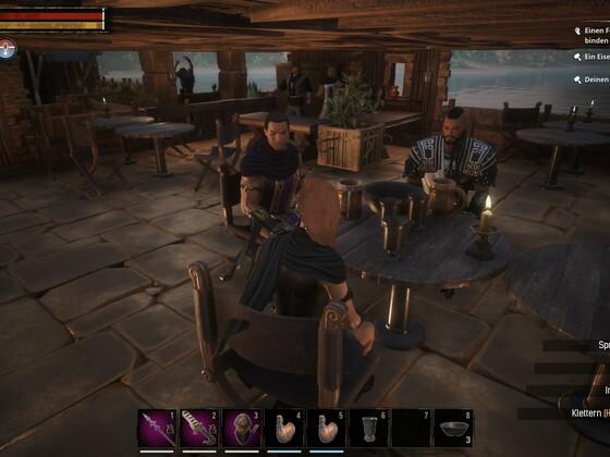 Gemütliches Beisammensein in unsrer Taverne