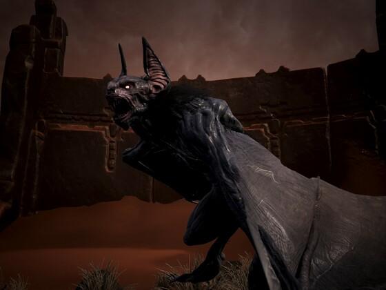 Fledermaus Dämon