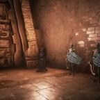 Höhle des Skelettechsenmannes