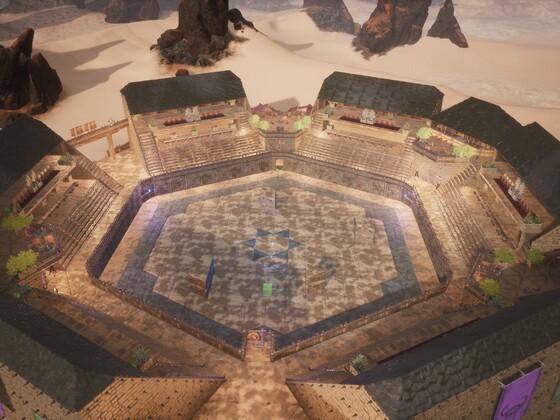 Mondlicht-Arena vom Server Nachtschatten