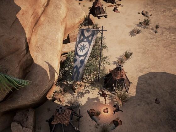 Siedlung der Darfari 3