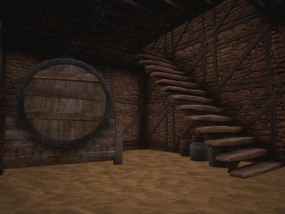 Schatten von Skelos - Im versandeten Keller in einem der Häuser in der Namenlosen Stadt