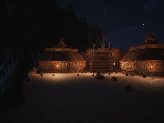 Darfari Hütten