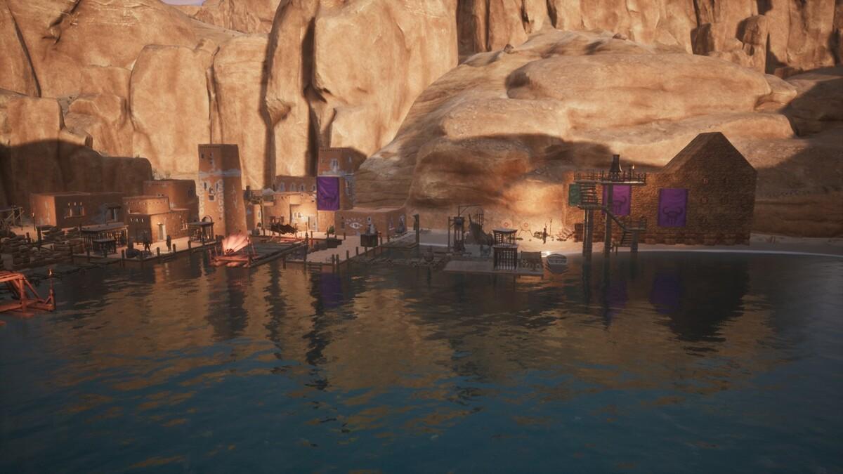 Ansicht auf Port Hades 2