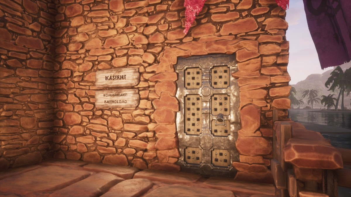 Eingang zur Kaserne