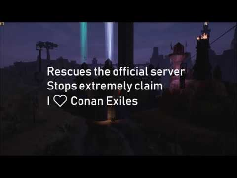 Conan Exiles : Extremely claim problem