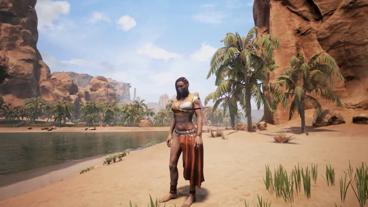 Conan Exiles: Dye system work in progress