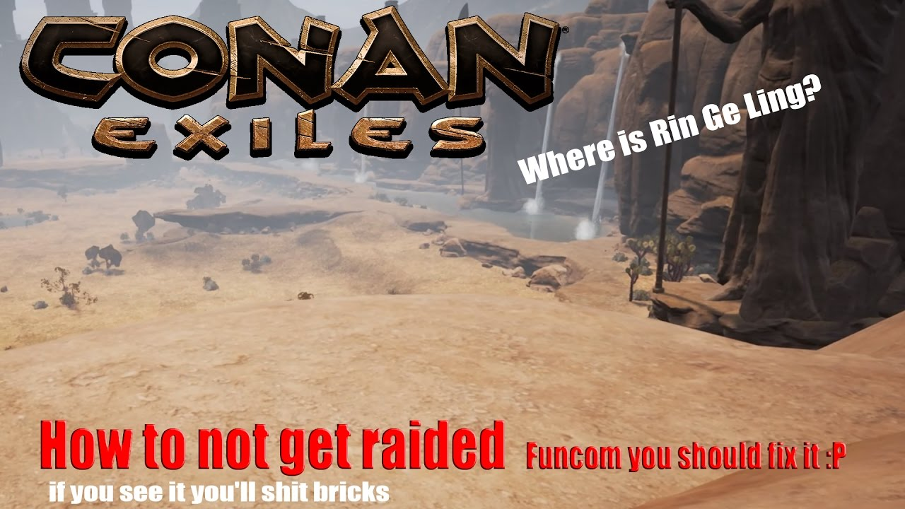 How to not get raided  Funcom you should fix it :P
