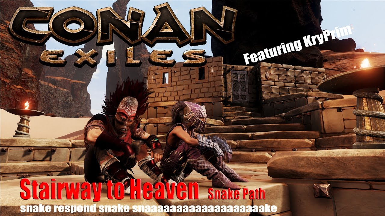 Conan Exiles Stairway to Heaven  Snake Path